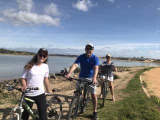 A bike ride in Portugal