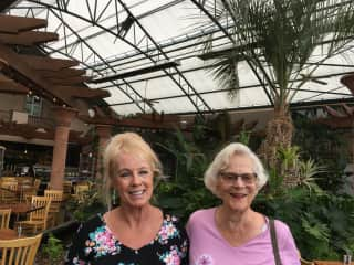 Mom and I in Seattle.