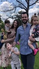 Son and his familia ❤️💕❤️💕