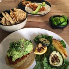 Finding vegan food while travelling is something that we're always excited about (especially Eve!)