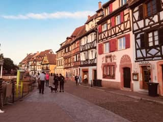 Walk to the pretty streets of the Old Town