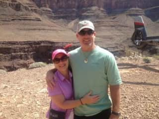 Bronwen & Lincoln - Grand Canyon USA