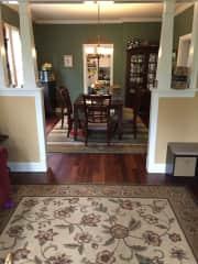 Living room/diningn room