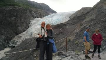 Travel - Mel and Lori in Alaska