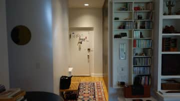 Hall way, apartment entrance