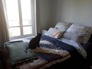 Bedroom with Bing