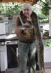 Nomaly I hate Snakes.  Picture taken at Bangkok/Thailand