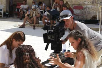 Thats me at work - filming in Malta