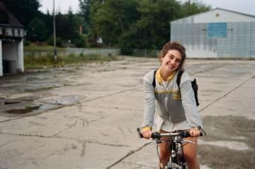 Biking in Stolpe, Germany