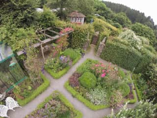 a part of our garden