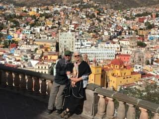Todd and Dorcie in Guanajuato, Mexico