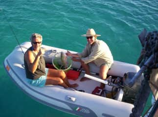Our previous life included weeks and months of exploring the Florida Keys and Bahamas on our sailboat.  We also got to eat a lot of fresh fish.