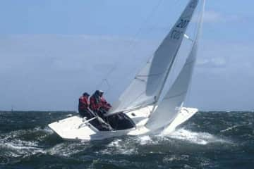 Clive (centre), Dragon Worlds 2011