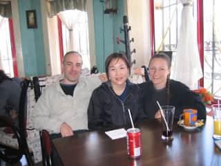 Wendy's Cafe in Ulaan Bataar, Mongolia
