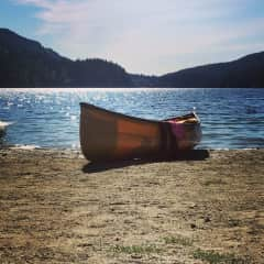 I love being outdoors, especially canoeing and have no problems taking a dog along with me!