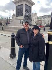 Athena & Michael in London