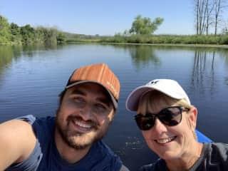 A fun kayaking trip!