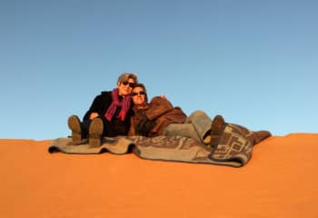 Relaxing in the Sahara