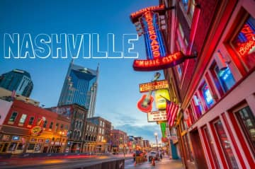 Nashville, TN, U.S.  - also known as Music City. We have lived right outside Nashville for 4 years.