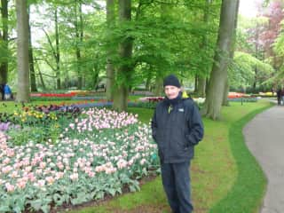 Mark, this is me on vacation in the Netherlands.