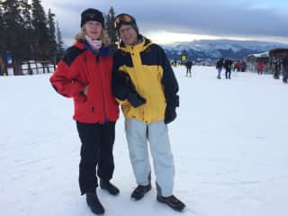 Enjoying a White Christmas inKeystone Colorado