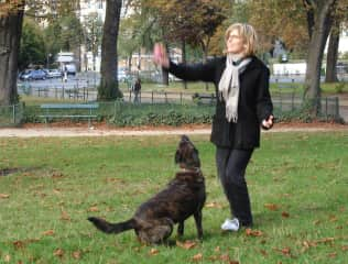 That's me with Ninite in the park