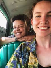 Coming back from the beach in East Havana, Cuba!