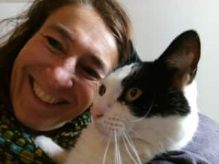 Me and my cat Mientje