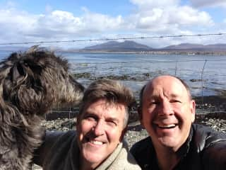 Corrymor with Sean and Charles in Scotland