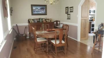 The formal dining room - which we rarely ever use!