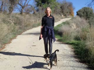 Walking Tramp in Cyprus