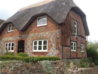 refurbished 19C thatched cottage