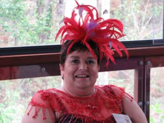 I am a member of  The Bubbly Belles of the Bay, a Red Hat Group