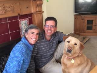 April, Carlos, and Walter