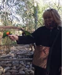Marin and bird friend