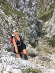 Climbing the Wilder Kaiser in Austria