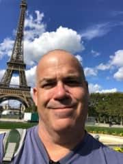 Myself at Eiffel Tower