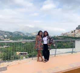 In Polop, Spain with my daughter getting her settled in for her adventure as an English Language Teaching Assistant.