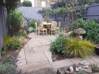 Relax in the garden - it's all yours.