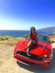 Roadtripping on the PCH, somewhere near big sur