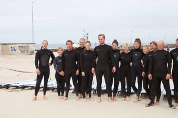 Family - surfing summer 2017