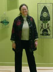 Stained glass gallery showing