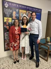 At our youngest daughters graduation, May 2018.