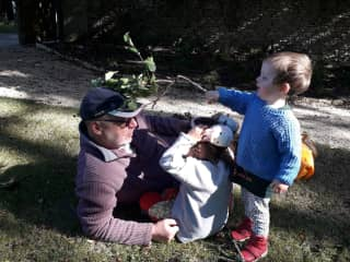 With the Grandchildren