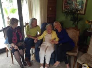 Family. Mum's 90th birthday