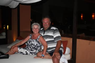 Enjoying ourselves in Los Cabos
