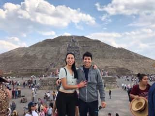 Mia and Oswaldo