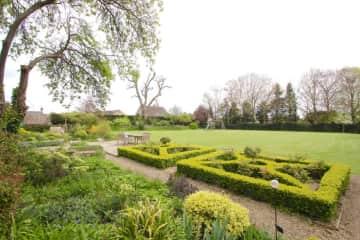 Front of garden