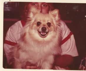 Me at 15 years old with my dog Suzie