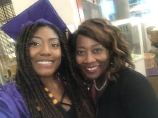 """Celebration! My daughter's graduation from college. We really value education in our family. When things open up, we'll surely resume our annual """"Family Graduations Tours."""""""